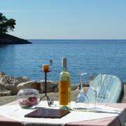 Restaurant Riva1 Prizba island of Korcula
